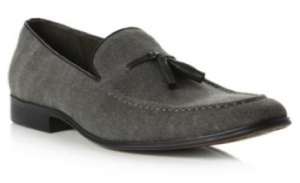 Dune tassel loafers