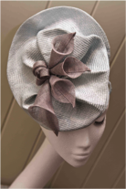Calla Disc fascinator