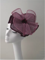 Two Tone Poppy Fascinator