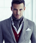 Layered look from Hugo Boss
