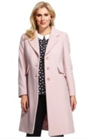 Pink wool coat from M&S