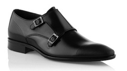 Double monk shoe by Boss