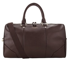 Leather holdall from Ted Baker