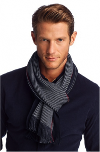 Mens Hugo Boss scarf