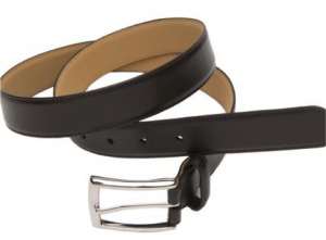Mens brown belt from TMLewin