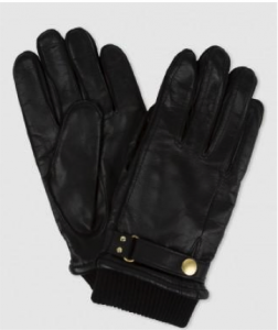 Mens leather gloves from Paul Smith