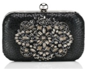 Sequin hardcase clutch from Accessorize