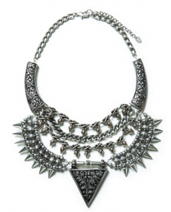 Statement necklace from Zara